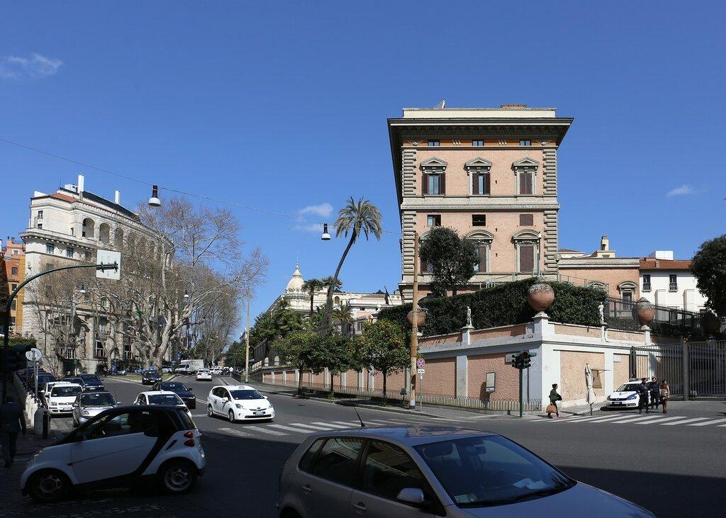 Рим. Улица Витторио Венето (Via Vittorio Veneto)
