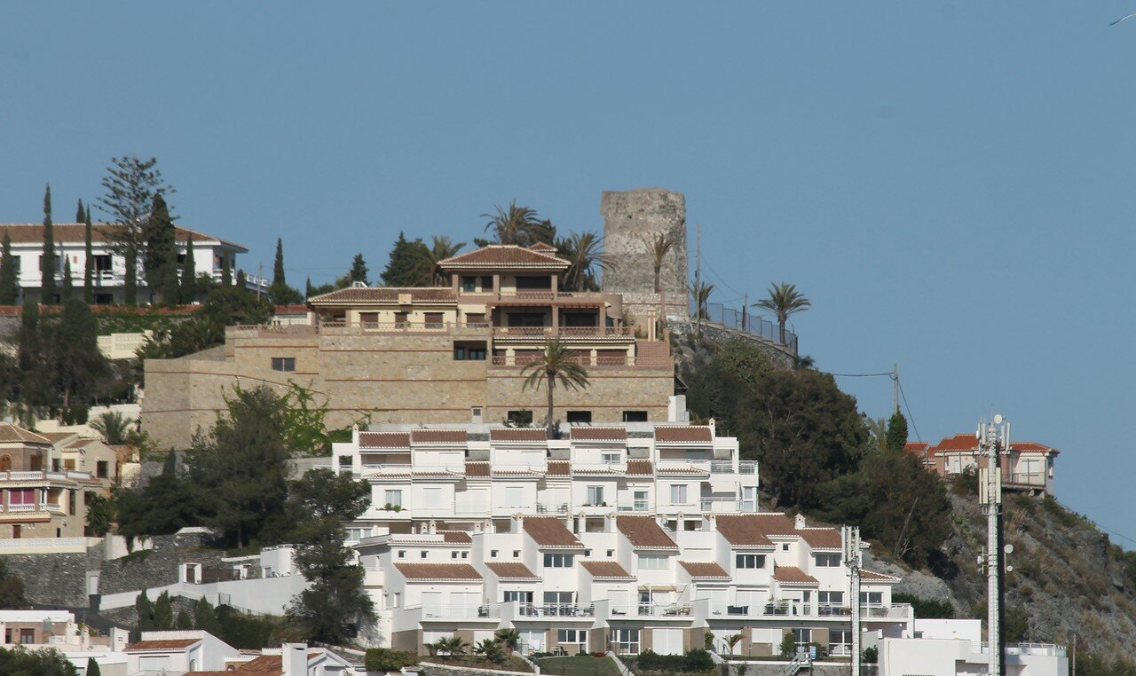 Альмуньекар. Вид из крепости Сан-Мигель