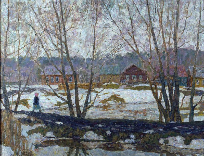 В селе Черняном. 1968