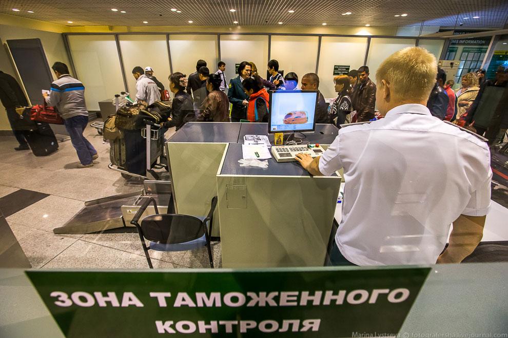 8. В Домодедово много самолетов, прибывающих из СА и основное проблемное направление&mdas