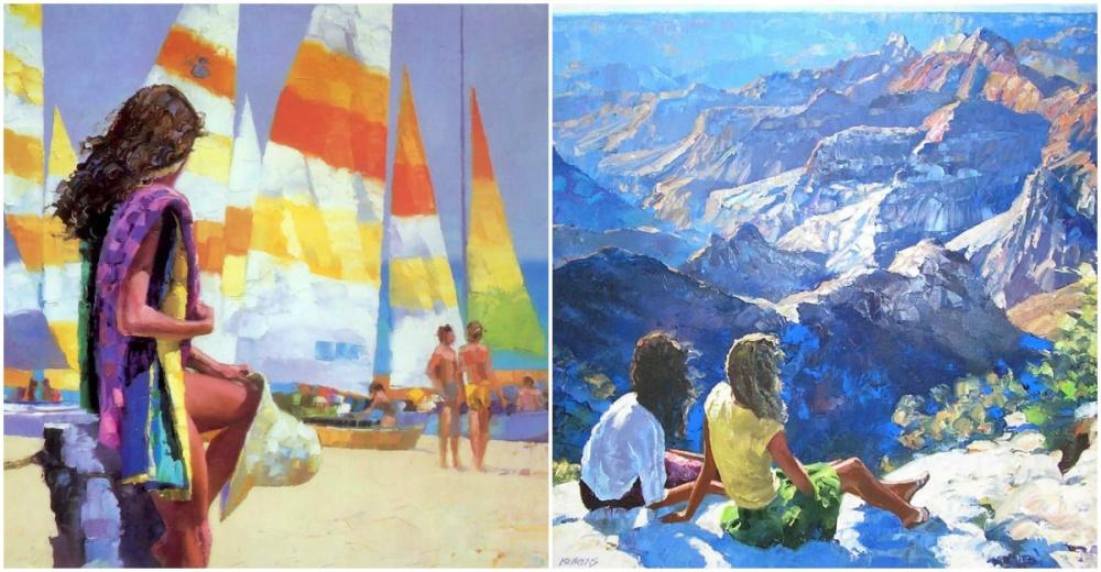 Говард Беренс (Howard Behrens)— американский художник-живописец, которого заслуженно именуют Моне X