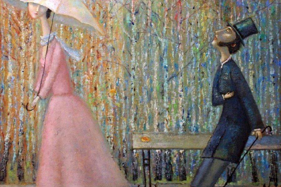 Романтическая живопись Александра Янина