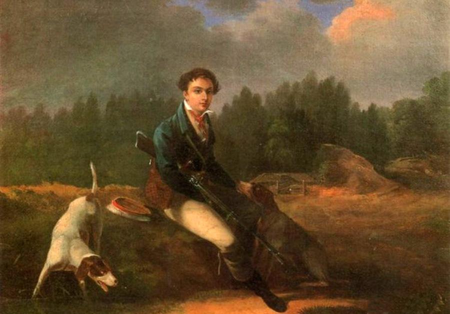 Дезарно Август Осипович (Auguste-Joseph Desarnot 1788–1840) Портрет Никиты Всеволодовича Всеволожского