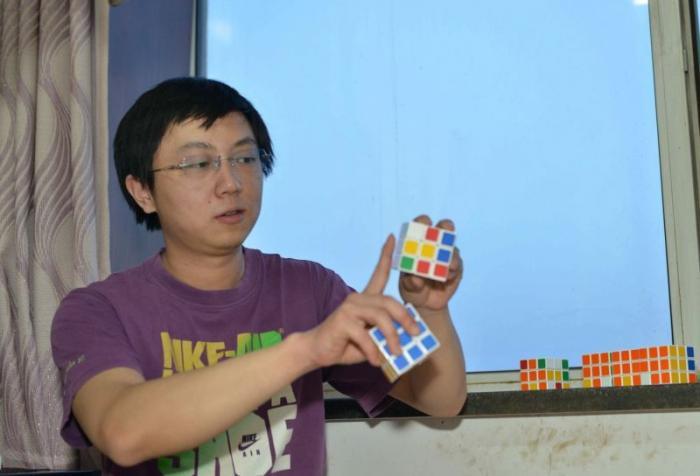 Арт из кубиков Рубика