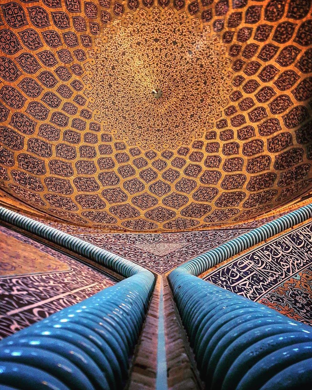 Sheikh Lotfollah mosque in Esfahan, Iran, about 400 years old