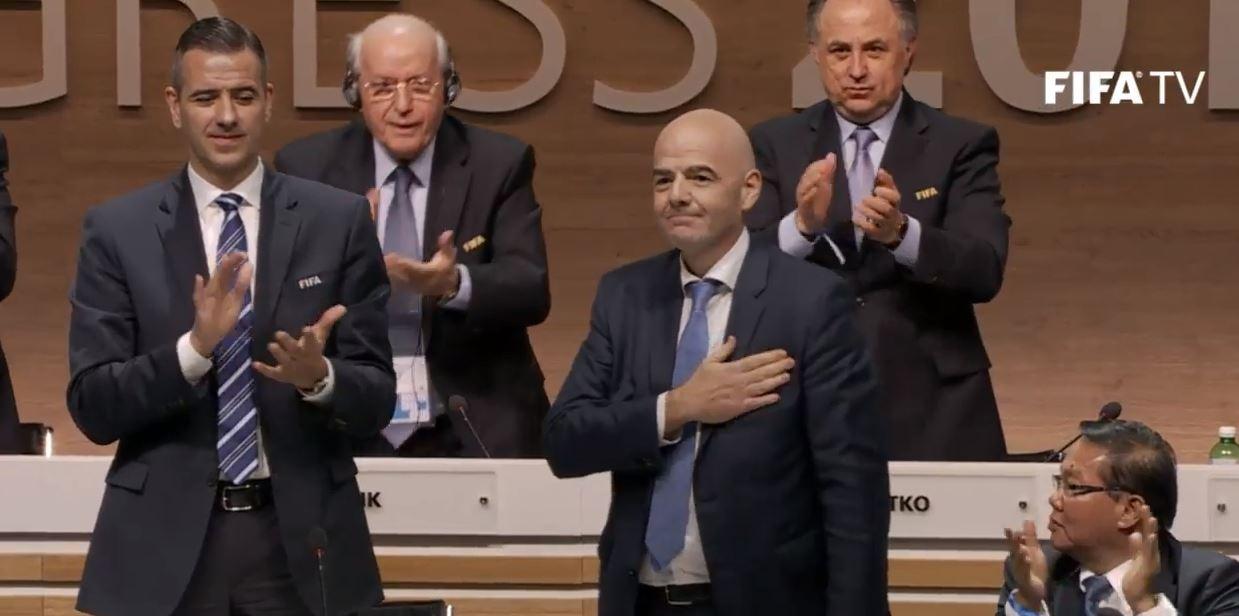 Джанни Инфантино ─ новый президент ФИФА