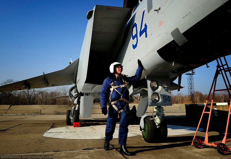 Полк истребительной авиации в Приморье получил модернизированные МиГ-31БМ