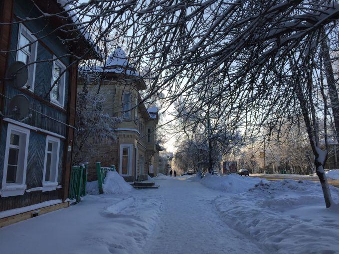 Вид города Бежецка