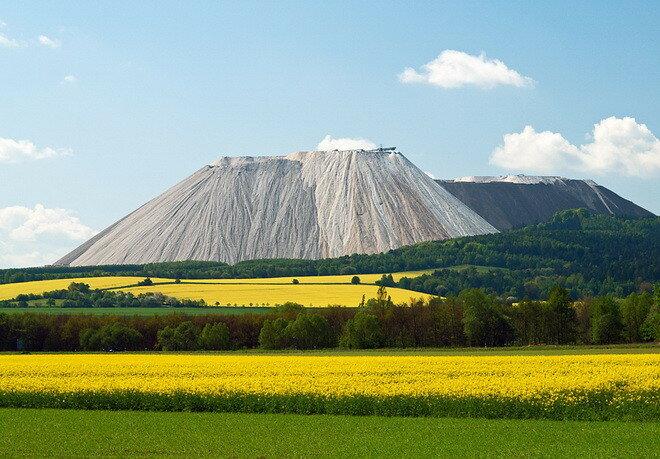 Соляная гора Монте Кали. Германия