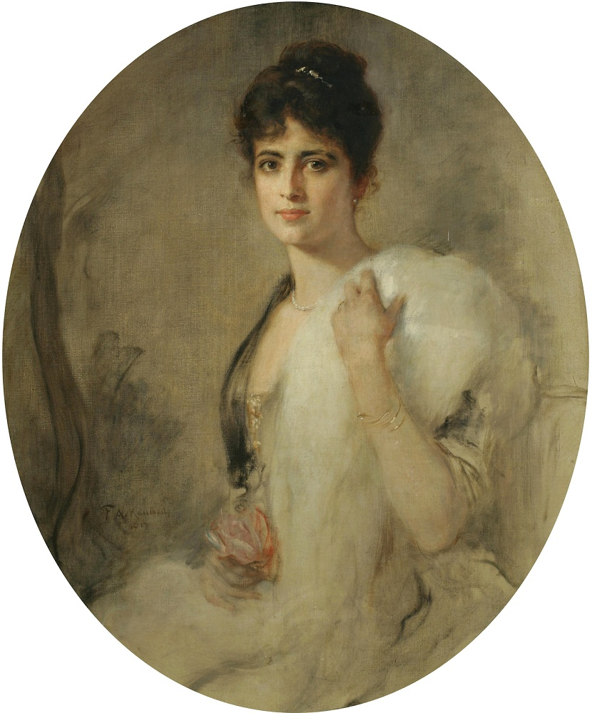 1917 ������� ���� (Portrait of a lady)