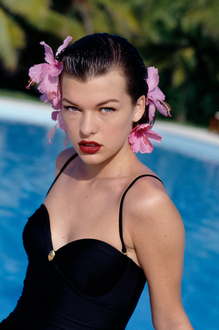 Fashion Model Milla Jovovich