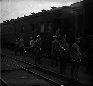 02. 1914. Отправка гроховского полка на фронт. Рыбинск