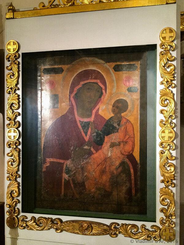 Икона Иверской Божьей Матери. Храм свт. Николая в Толмачах.
