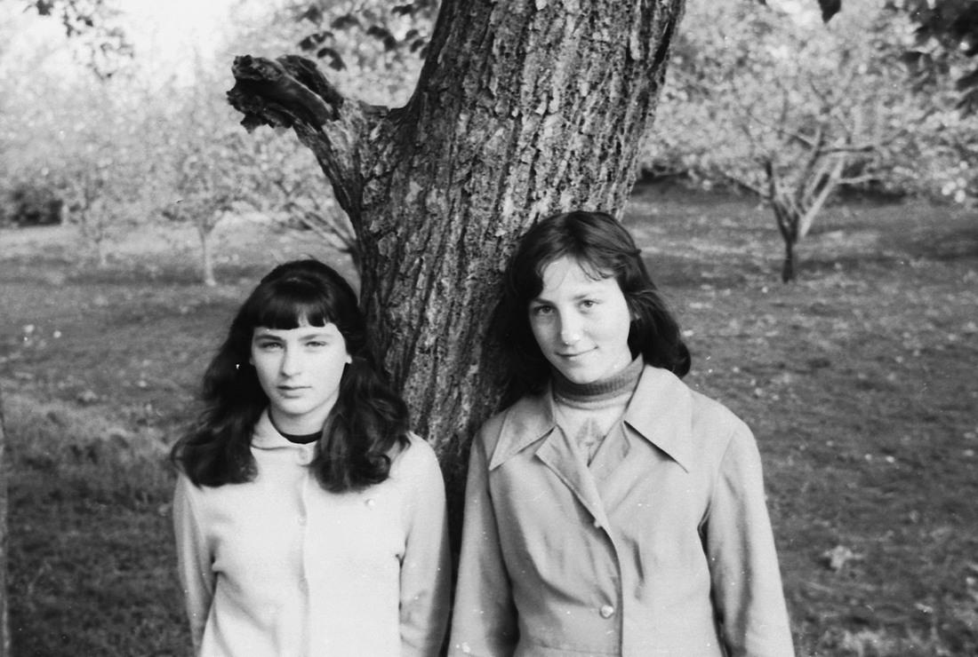 Трескино, школа, 1977
