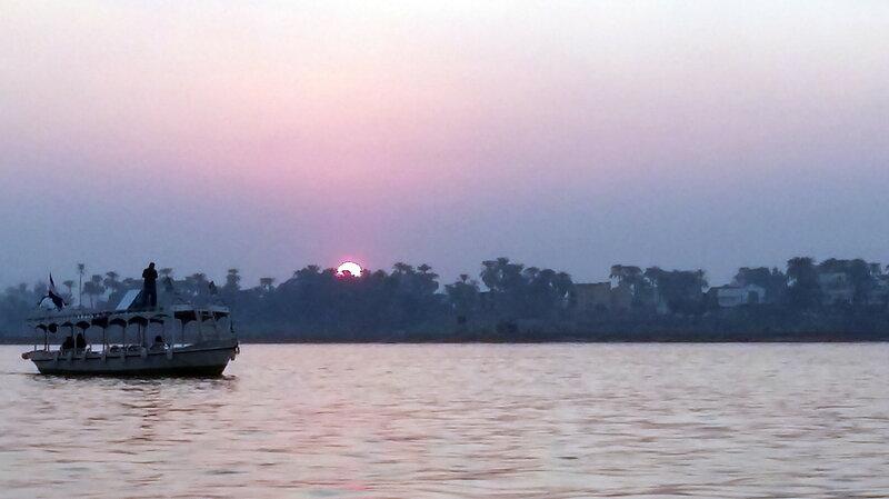 закат Нил