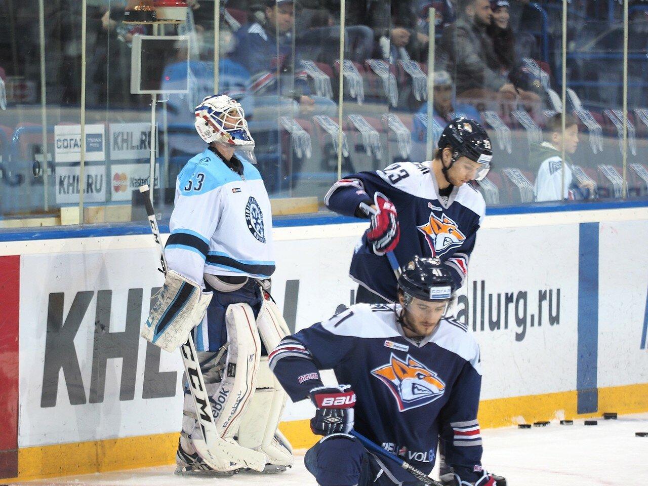 40Восток 1/2 плей-офф Металлург - Сибирь 08.03.2016