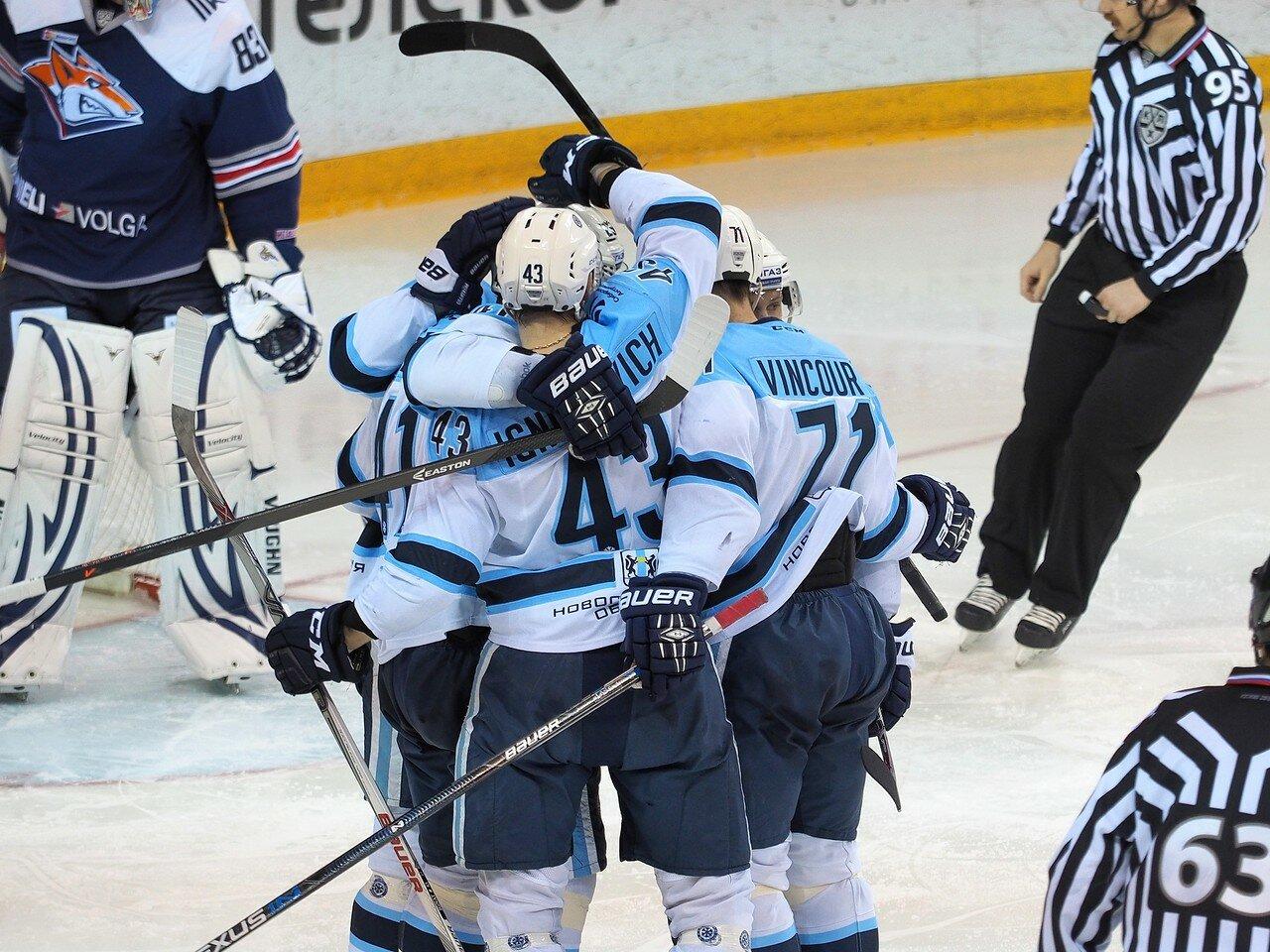84Плей-офф 2016 Восток 1/2 Металлург - Сибирь 10.03.2016