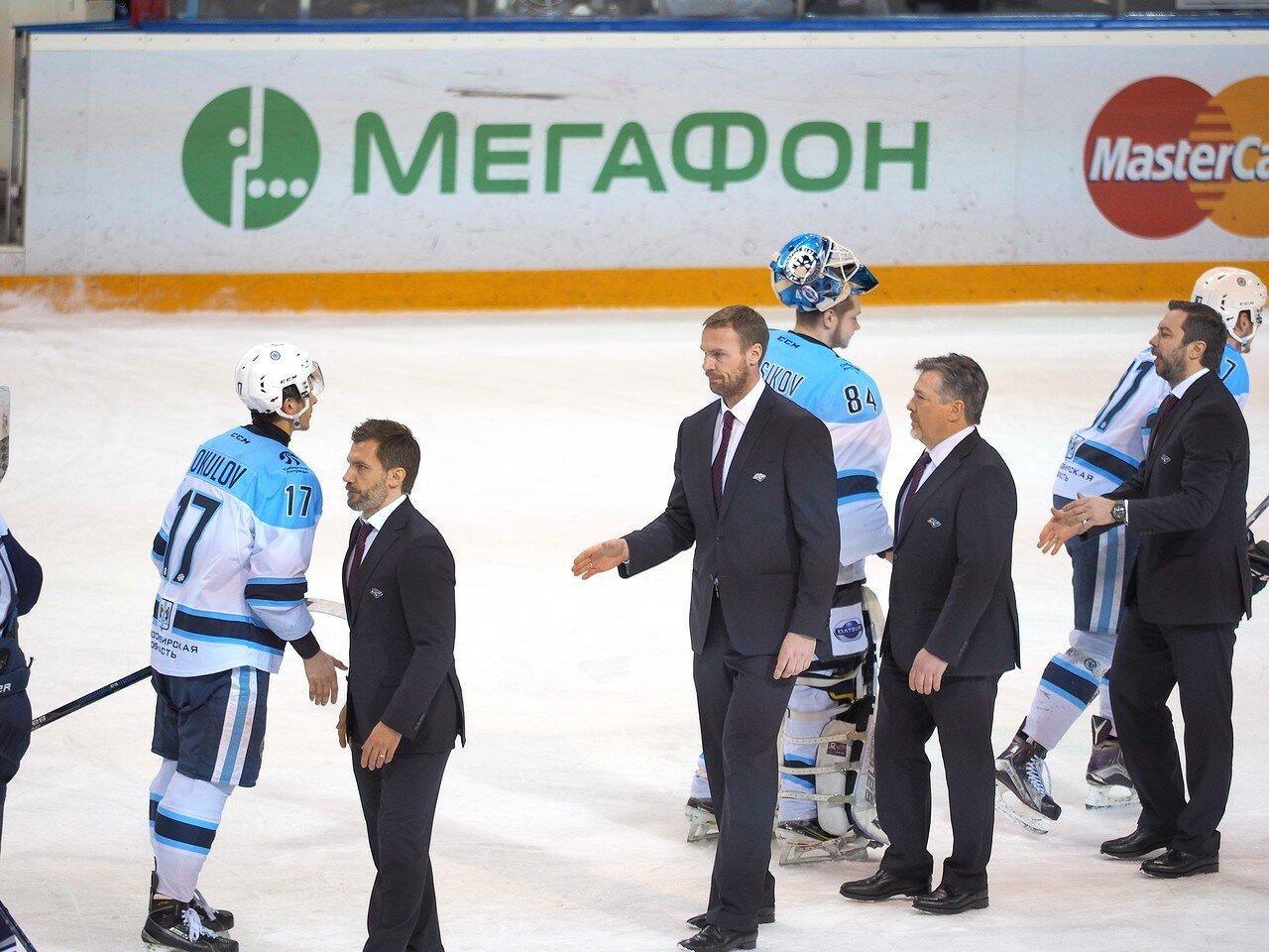88Плей-офф 2016 Восток 1/2 Металлург - Сибирь 16.03.2016