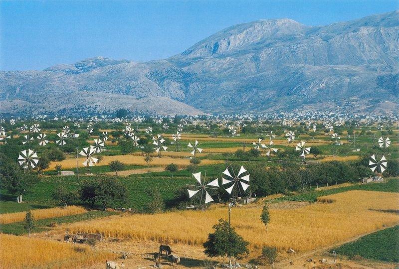 Долина с тысячами мельниц