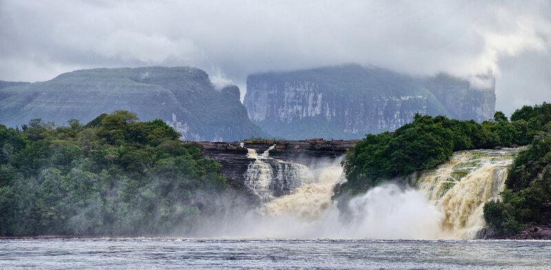 Водопады Укайма и Голондрина.