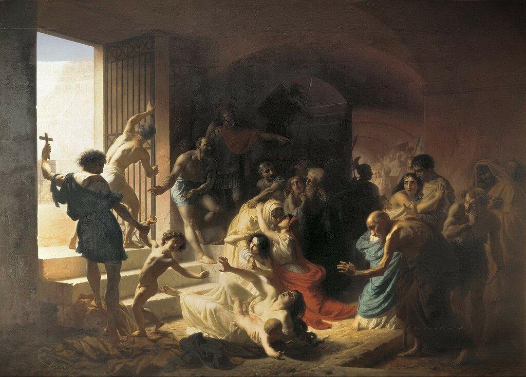 Флавицкий: Христианские мученики в Колизее