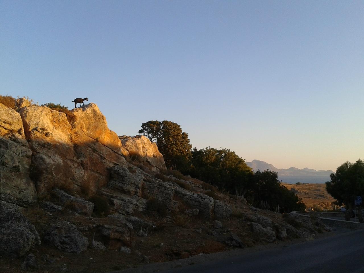 Родос. Прогулка по утреннему Линдосу