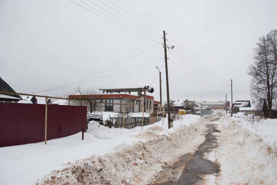 речная улица строительство