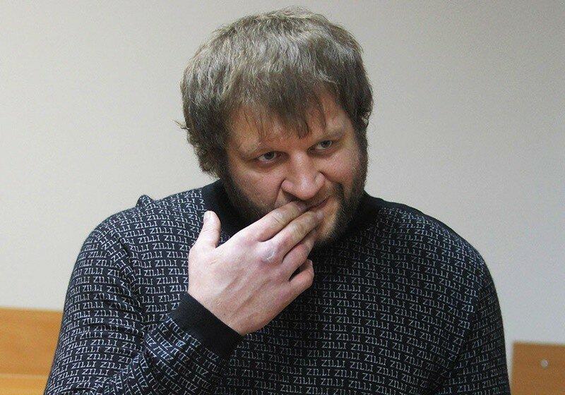 Александр Емельяненко начал тренироваться в СИЗО