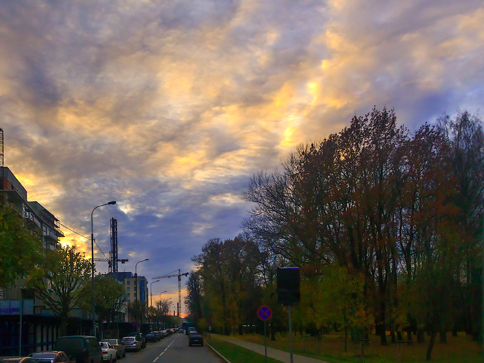 чай санкт петербургское небо