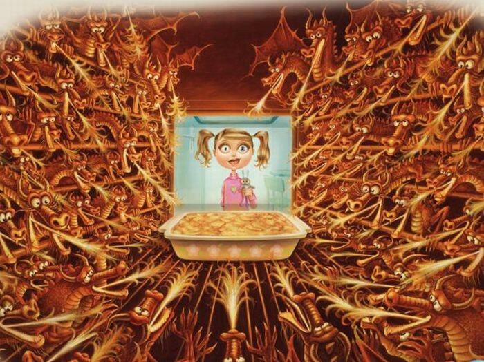 Художница Пьеретта Диас и детское воображение в её иллюстрациях