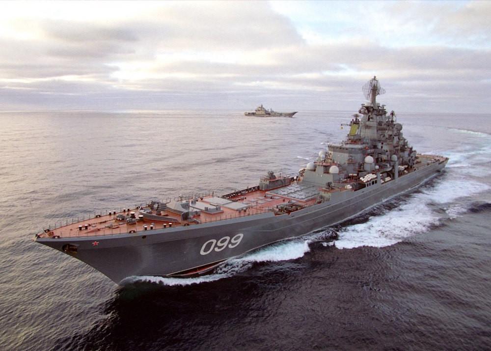 Тяжелый атомный ракетный крейсер «Петр Великий» — самый большой в мире неавианесущий ударный боевой