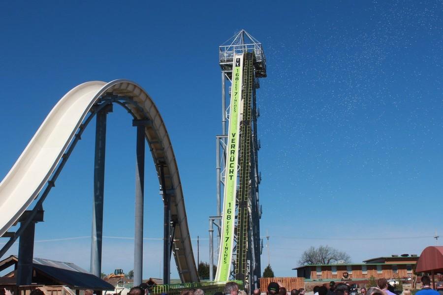 8. Verruckt — самая высокая горка в мире (Канзас-Сити, США) Verruckt в переводе с немецкого означает