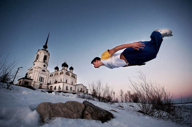 Anton Unitsyn, Russia. Shortlist, Professional , Daily Life. Parkour jumpers on their daily training