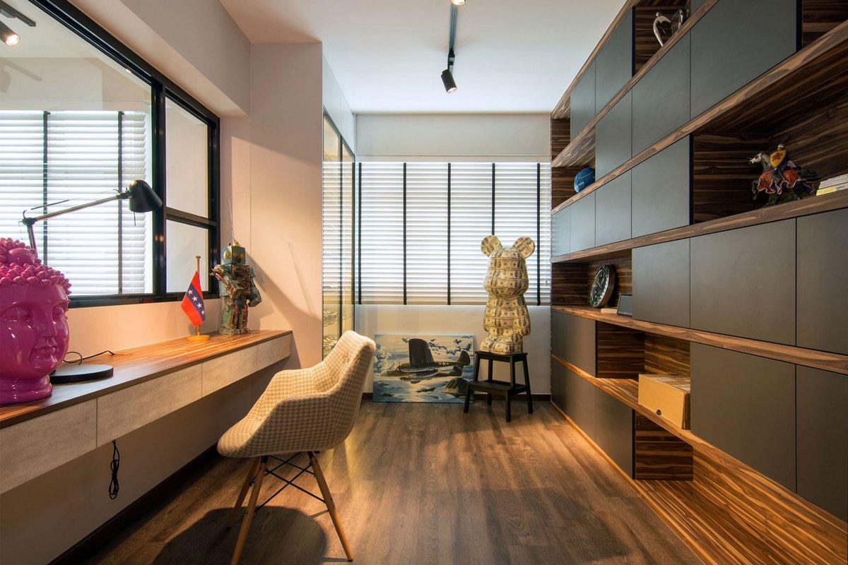 Vievva Designers, уютный дом фото интерьеров, уютный интерьер загородного дома, молодежный интерьер, точечное освещение фото, частные дома Сингапур