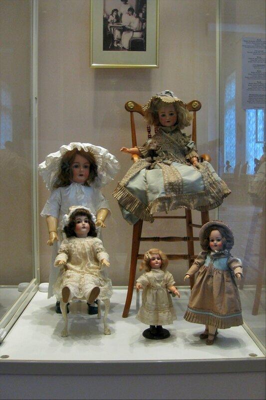 Игрушки царских детей, Александровский дворец, Царское Село