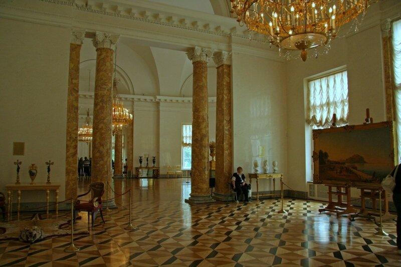 Анфилада парадных залов, Александровский дворец, Царское Село