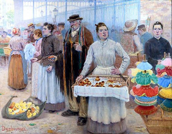 Картинки по запросу торговля в живописи