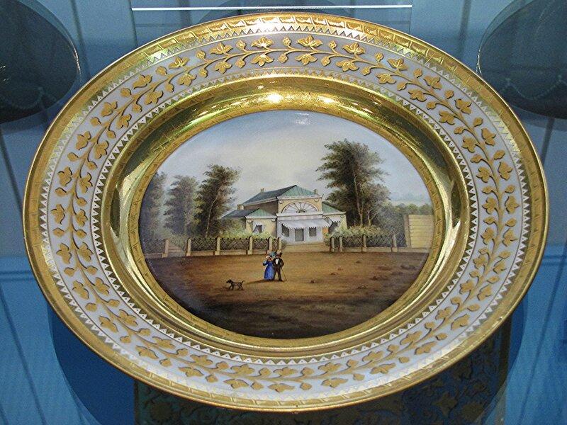 Тарелка с видом Елагина Дворца