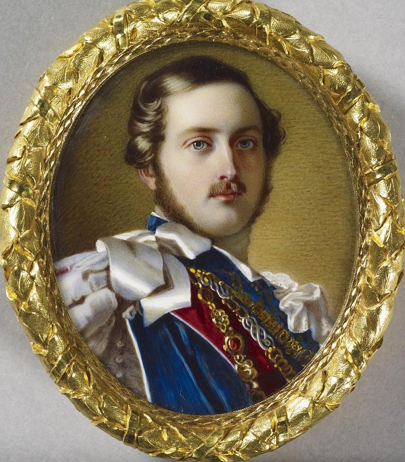 Gugliemo Faija (1803-73) Принц Альберт (1819-1861)  с. +1851