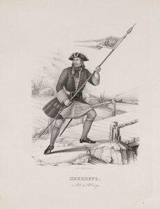 Пикинер. 1700-1720
