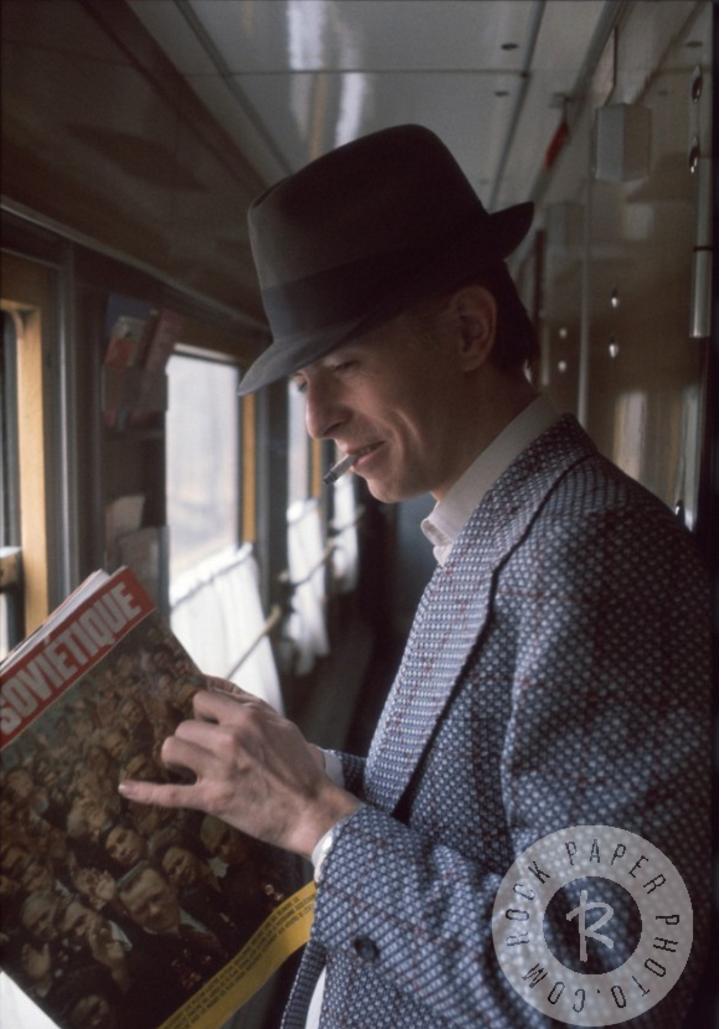 1973. Дэвид Боуи на пути из Москвы в Финляндию