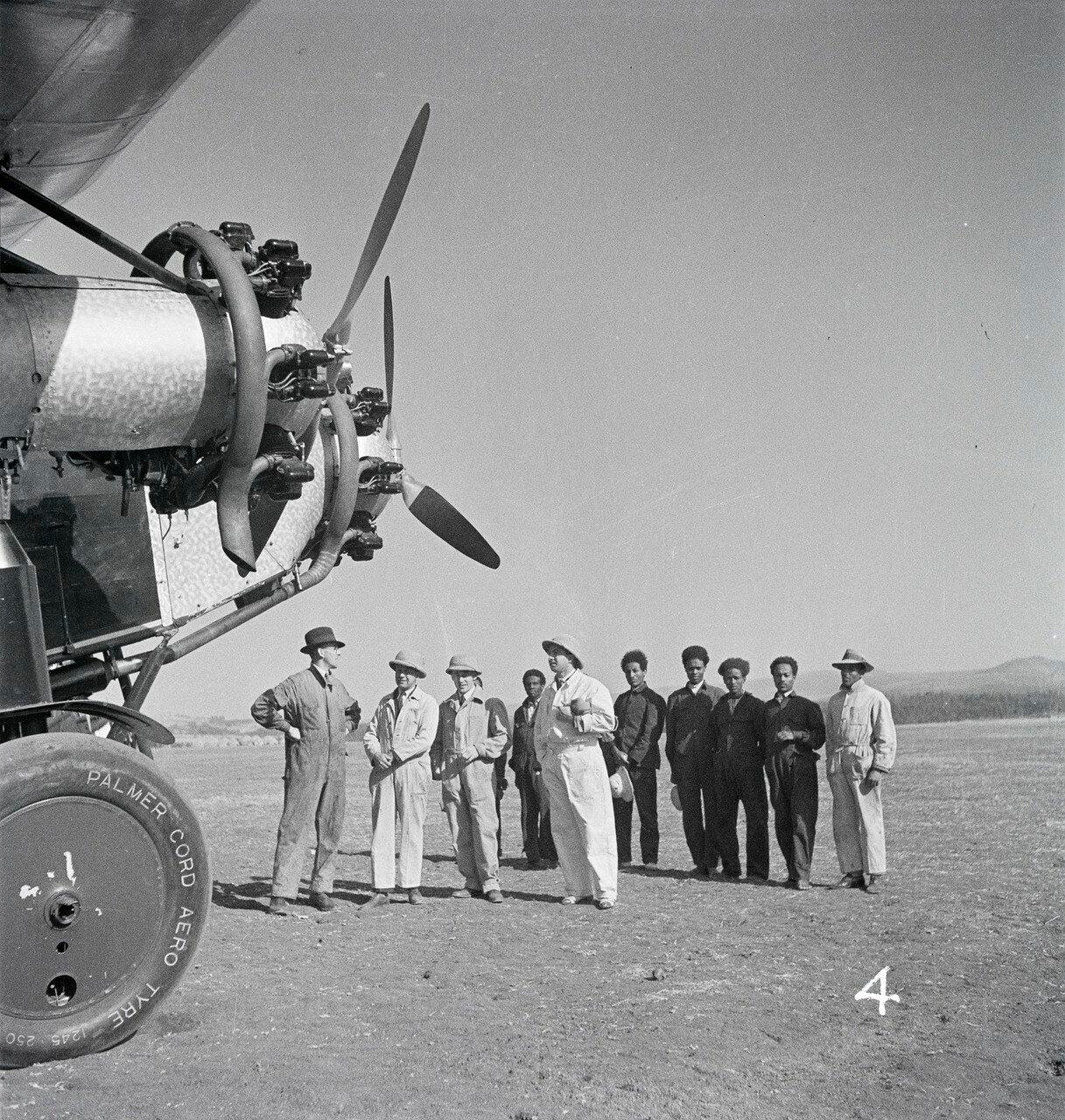 Летное поле в Аддис-Абебе