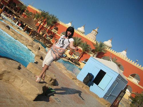 Людмила- путешественница в Египте
