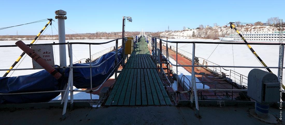 фотография танкера Волгонефть-39 в Городецком СРЗ