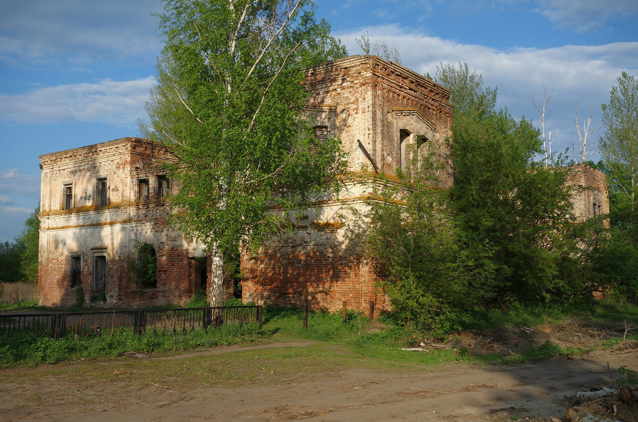 остатки усадьбы 19 века