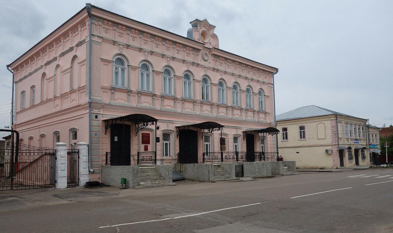 был дом купца Пономарёва