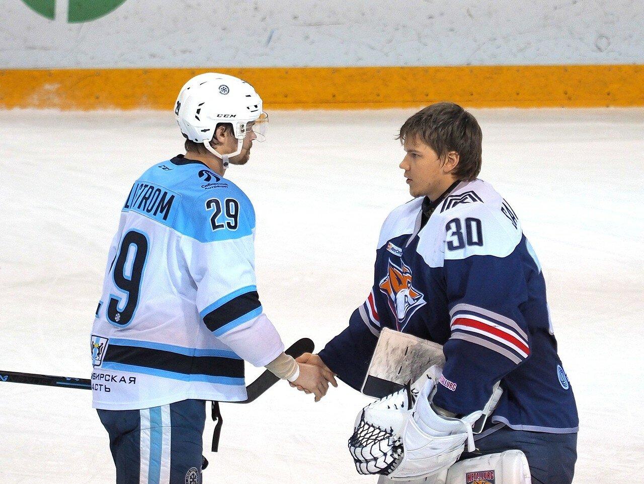81Плей-офф 2016 Восток 1/2 Металлург - Сибирь 16.03.2016