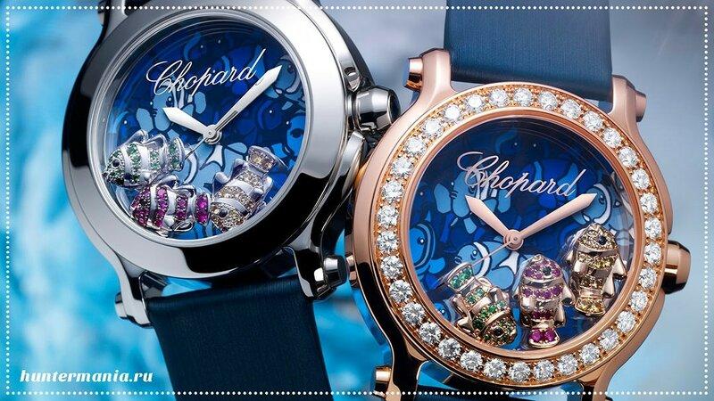 Chopard - часы и ювелирные украшения класса люкс