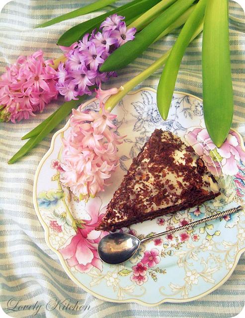 Шоколадный торт без муки с апельсиновым кремом.jpg