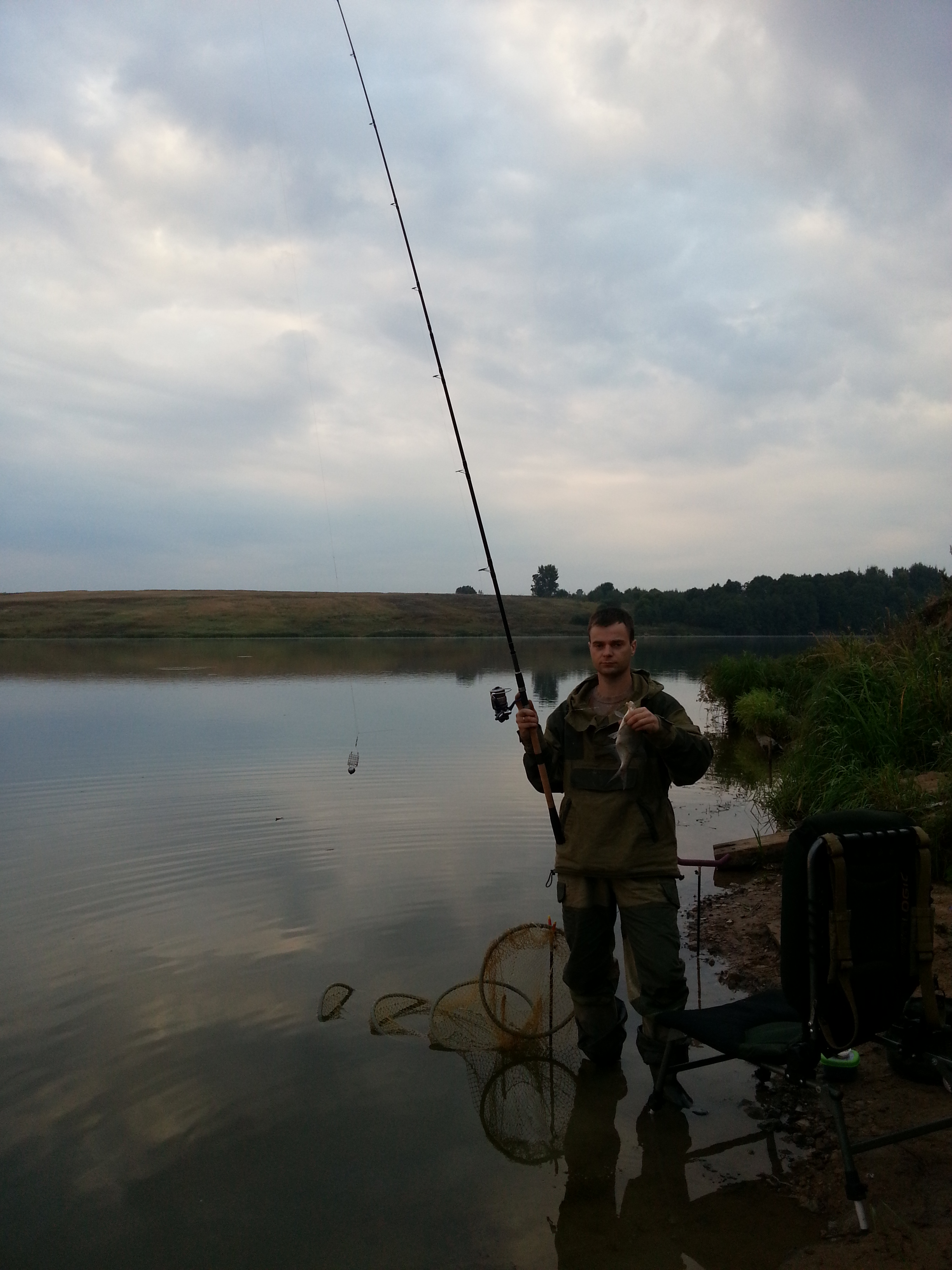 Vazuzskoe reservoir: fishing and recreation at local bases 66